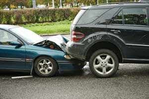 Photograph of Auto Accident with Injuries