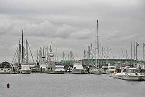 Photograph of Boats in a Harbor which can lead to Boating Accidents