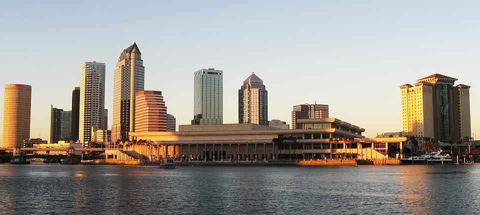 Tampa Skyline Photograph